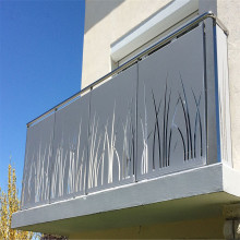 Laser Cut Aluminum Panel for Balcony Railing