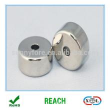 круглая неодимовый магнит 20 мм с отверстием