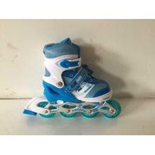 Children Sports Blue Inline Skates