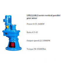 Lpb/J, Lsb/J Series Vertical Parallel Gear Mixer