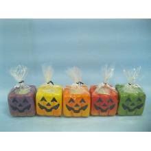Artisanat en céramique en forme de bougie de Halloween (LOE2372B-5z)