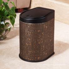 Botella de basura de la prensa del cuero del diseño egipcio (H-3LA)