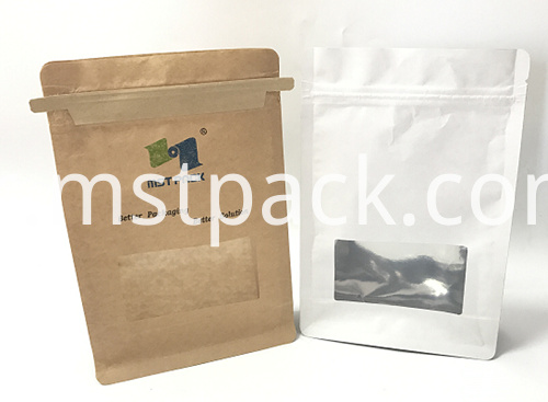 Paper bag with window1