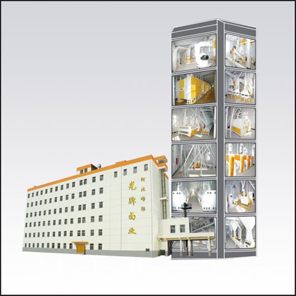300t Concrete Building