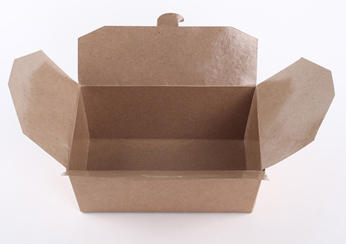 kraft paper food box