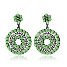 Trendy Bohemia Style Resin Stone Earring (XER13088)