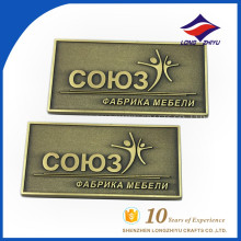 Custom business rectangle name plate