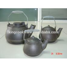 mini-ferro fundido chaleira venda quente