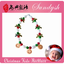 Latest Bubble Chunky Jewelry Christmas Kids Necklace