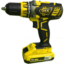 High-Quality 16V 2000mAh Lithium Battery Cordless Drill Electric Tool Power Tool