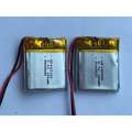 140mAh Lithium Polymer Battery For Media Player (LP2X2T4)