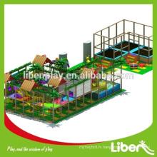 Équipement personnalisé d'équipement de jeux pour enfants, équipement de zone de jeu à l'intérieur à vendre