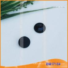 Tela redonda cubrió el botón BM1715
