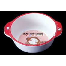100% utensílios de mesa de melamina-kid tigela série / saladeira (bg2003)