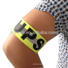 Reflective armband appect OEM trademark /logo/labal