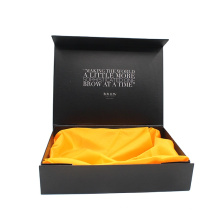 New design Custom logo luxury Magnetic gift packaging box with stain insert for bridesmaid scarf pendant earring