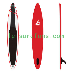 custom-built inflatable race board