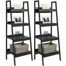 Productos Juego de muebles Par de estanterías con escalera de 4 estantes