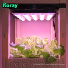 Sistema de cultivo de luz LED planta de cultivo de solo interior caixa de plantio vertical