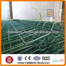 Top and bottom double round circle mesh fencing