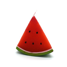Christmas decorative watermelon shape art candle