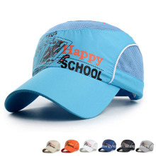 Children Fashion Printed Fast Dry Mesh Baseball Sports Caps (YKY3420)