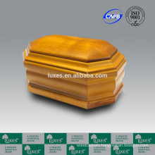 LUXES Solid Oak Wooden Urn UN20 Cremation Urns
