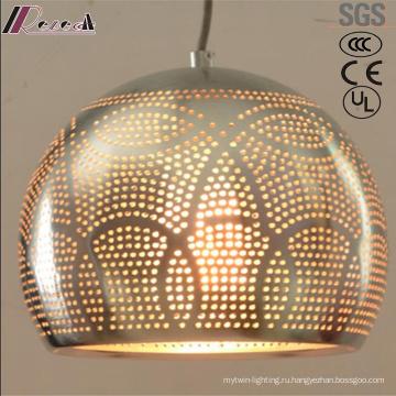 Мода и металлические полые Кулон свет столовая