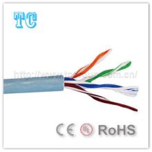 Ce / CCA Certificado Cat 5e Cable de red UTP de interior