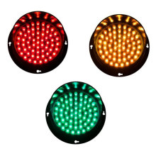 Reemplazo de semáforo amarillo de tablero de flecha LED de 100 mm