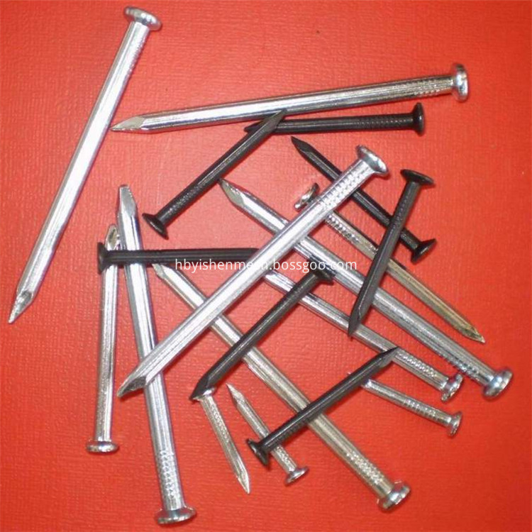 galvanized concrete nails