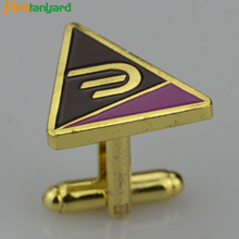 Best Price for Mens Gold Cufflinks Personalized Metal Cufflinks For Men supply to Japan Factories