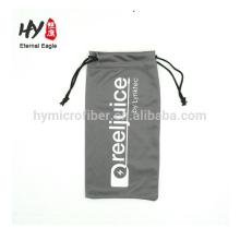 Wholesale billig eco friendly kordelzug mikrofaser brille tasche