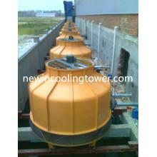 Torre de enfriamiento industrial de fibra de vidrio de 8t
