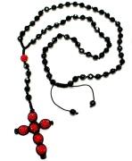 Fashion handmade Shamballa Cross Necklace Jewelry (NB0012)