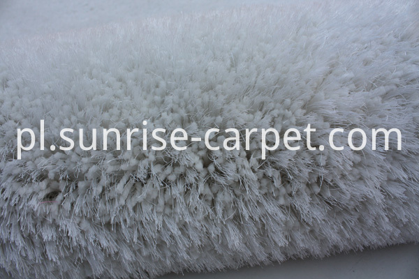 Thick Soft Elastic & Silk Mix Shaggy Rug