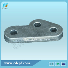 OEM for Link Fitting Power Line Fitting HDG Steel Towing Plate export to Gibraltar Wholesale