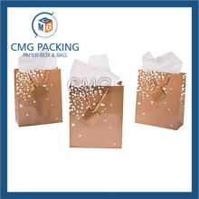 Golden Printing Wedding Small Gift Paper Bag (DM-GPBB-153)