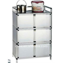 Aluminum kitchen cabinet