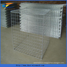 Anping Factory River Bank Mesh Hexagonal Galvanized Gabion Basket