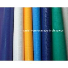 Tela impermeável da lona do PVC para a tampa da barraca / tabernáculo / caminhão
