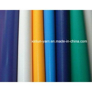 Tissu imperméable de toile de PVC pour la tente / tabernacle / couverture de camion