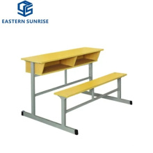 School Furniture Wooden Metal Student Table and Chair for Kids