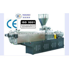 HS calidad SHJ-40 doble tornillo color masterbatch que hace la máquina