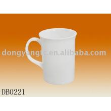 Copos de chá de porcelana por atacado direto da fábrica brancos