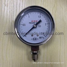 Micro Low Differential Pressure Gauges 2.5MPa