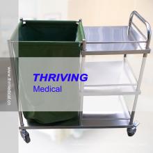 Тележка для транспортировки больниц из нержавеющей стали