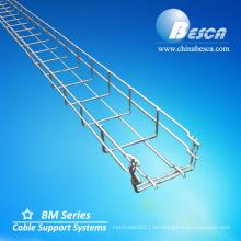 Distribuidor de la bandeja de cable de la malla de alambre de electro galvanización