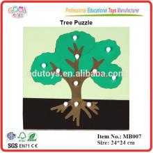 Montessori Botanik Puzzle - Baum