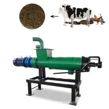 Customized livestock slurry solid liquid separation machine/chicken manure dewatering machine with agitator mixer